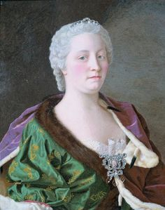 Jean-Etienne Liotard (Swiss-French artist, 1702-1789 Empress Maria Theresa Archduchess of Austria