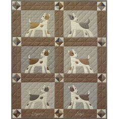 Must Love Dogs By The City Stitcher , Applique | Quilterswarehouse
