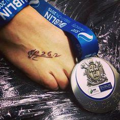 Marathon tattoo
