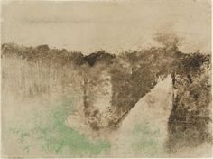 Edgar Degas The Road in the Forest