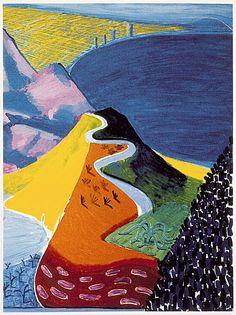 David Hockney - Malibu