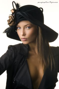 BLACK | ladies hats 2