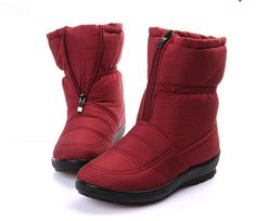 >> Click to Buy << snow boots 2016  Winter brand  warm non-slip waterproof women boots mother shoes casual cotton winter  autumn boots femal shoes #Affiliate