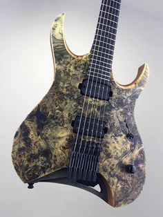 first headless Mayones guitar – – HYDRA model 6- and 7-string versions (prototypes) For more information, photos and specifications head to: http://mayones.com/guitars/hydra/
