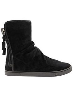 Becky Short Boot by UGG® Australia - Rock your sneakers all winter with these water-resistant suede bootie sneaks that have all the UGG® cushe and comfort you crave.