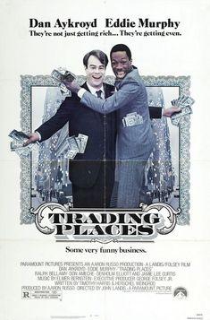 Trading Places (1983) - Dan Aykroyd, Eddie Murphy and Jamie Lee Curtis