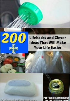 Top 200 Lifehacks and Clever Ideas that Will Make Your Life Easier {Biggest Source of Life-hacks}
