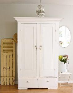wardrobe in entry