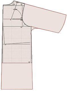 Примеры моделей плащей, пальто-деми разработанных на основах рассчитанных в программе Закройщик