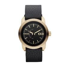 Diesel DZ5277 Black Leather Strap Damenuhr