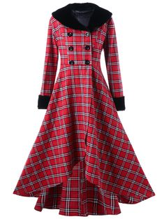 Best representation descriptions: Plus Size Double Breasted Plaid Coat Related searches: Short Dress Coat,Long Dress Coats,Dress Coats for . Winter Coats Women, Coats For Women, Plus Size Dresses, Plus Size Outfits, Langer Mantel, Swing Coats, Plus Size Kleidung, Plus Size Coats, Plaid Skirts