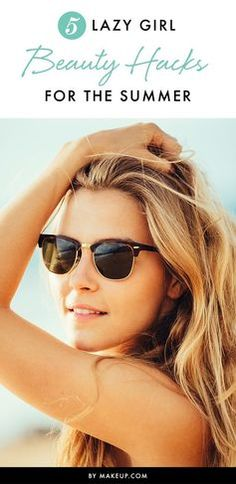 The summer season is just around the corner, so here are some beauty (and life) hacks for the lazy girl! These makeup tips and tricks will get you through the season.