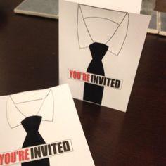 Handmade invitations from my Mad Men themed 25th birthday!