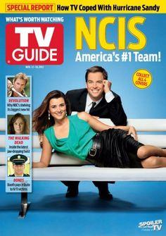 Photos - NCIS - Season 10 - Misc - TV Guide Magazine Covers - ..FUTURE....NEWLYWEDS