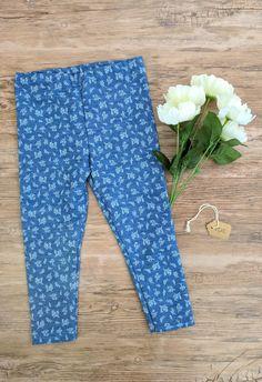 Girls leggings, toddler jeans, baby girl leggings, floral pants, denim leggings, toddler fall leggings, baby girl floral leggings, toddler denim jeans, baby girl jeans