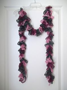 Ravelry: Crazy Easy Ruffle Scarf pattern by Simply Stace