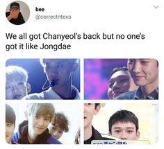 𝓶𝔂 𝓱𝓮𝓪𝓻𝓽 𝓲𝓼 𝓯𝓾𝓵𝓵 𝓸𝓯 𝓵𝓸𝓿𝓮 - Jongdae - Info Korea Exo Ot12, Chanbaek, Kaisoo, Kpop Memes, Funny Memes, Baekhyun, K Pop, Steven Universe, Day6 Sungjin