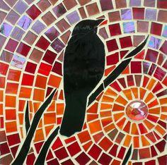 Leslie: Blackbird at Dusk