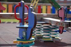 Parque infantil detalle.