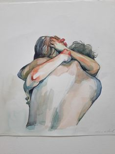 Gay illustration, landscape illustration, amazing art, human being, cool things to paint Watercolor Art, Sketches, Drawings, Amazing Art, Painting, Illustration Art, Art, Beautiful Art, Love Art