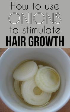 1. Mix two tablespoons of onion juice with a tablespoon of olive oil.  2. Gently massage your scalp and let the mixture act for 20-30 minutes.  3. Rinse your hair with warm water and shampoo to remove odor and debris.  4. Repeat the treatment daily.