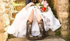 Cowboy Boots and Cowboy Brides  http://www.countryoutfitter.com/style/boots-brides/?lhb=style