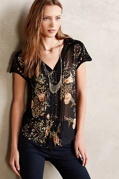Emberglow Blouse - anthropologie.com #anthrofave