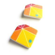 Kite Earrings by COL*R theory $20.00 now featured on Fab.