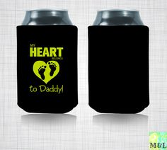 father's day beer koozies