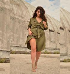 Nadia Aboulhosn, la modelo y blogger fashion de talla grande   Entretenimiento   20150729