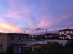 Sunset Fuji