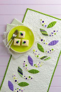I like the simplicity and look for a Summer table runner.
