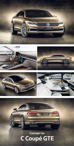 The C Coupé GTE establishes a dynamic sports saloon and a comfortable chauffeur – En Güncel Araba Resimleri Jetta Mk5, Vw Passat, Chevrolet Camaro, Corvette, Vw Cc, Mexico 2018, Car Volkswagen, Mercedes Maybach, Fancy Cars