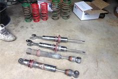 Statis Fully Adjustable Coilovers S4