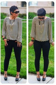Love this shirt and necklace. Shoes are cute too. Love this outfit.