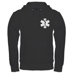 EMS Star of Life Hoodies For EMT's and Paramedics