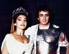 Maria Callas e Franco Corelli - Norma - Opera Paris 1964
