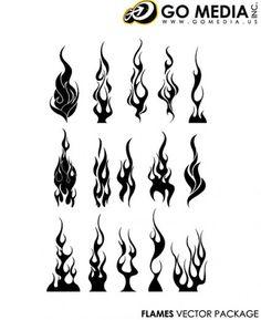 flames tattoo - Google Search