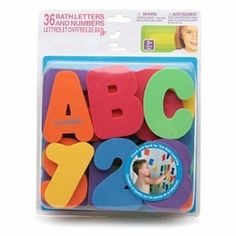 36 pcs per lot Swimming toys Bath Toys Floating toy with figure + Alphabet educational toy Free Shipping