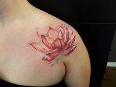Lotus watercolor James Hall @Shaman modifications Austin Tx