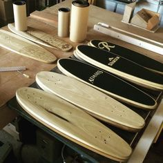 When you love your job, it's not a job. It's a passion. #livetodesign #designtolive #bornfree #instagram #seattlemade #cruiser #SML #fourwheeledsword #seahawksskateboard #maker