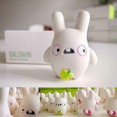 """So cute! : Dolly Oblong's """"Baldwin"""" resin figure"""