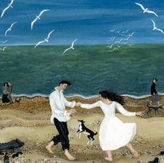 'A Moment' by Dee Nickerson. Blank Art Cards By Green Pebble. www.greenpebble.co.uk