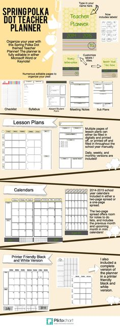 Substitute lesson plan packs, adaptable for so many different