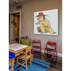 Peggy Fortnum 'Paddington Bear Look After This Bear' Art
