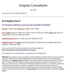 Mcx reports tips calls index base metals gold silver