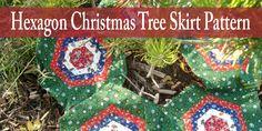 Hexagon Christmas Tree Skirt Pattern