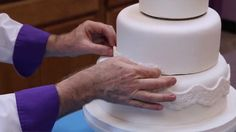 How to Make Your Own Wedding Cake Part 1 of 2 by Chef Alan Tetreault of Global Sugar Art