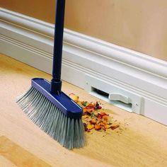 In-floor vacuum system