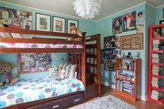 Lisa's Earthy Vintage Modern Teen Bedroom Designs, Bedroom Ideas, Teen Girl Bedrooms, Modern Bedrooms, Lowes Home, Vintage Modern, Cool Rooms, Bunk Beds, House Tours